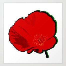 DBM California Poppy 1 Art Print