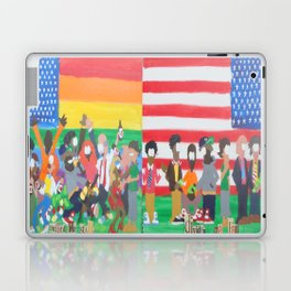 United we Stand Divided we Fall Laptop & iPad Skin