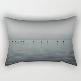 In Flight Rectangular Pillow