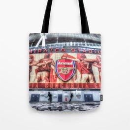 Arsenal FC Emirates Stadium London Tote Bag