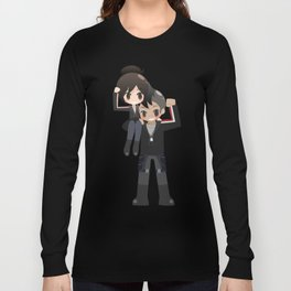 Mass Effect - James Vega and Shepard Long Sleeve T-shirt