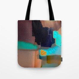 Ectoplasmic Escape Patterns Tote Bag