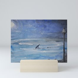 Shallow water Mini Art Print