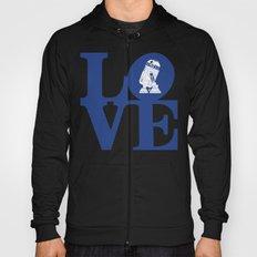 Robot LOVE - Blue Hoody