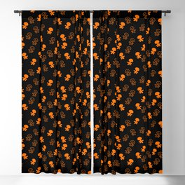 Aliens-Orange Blackout Curtain