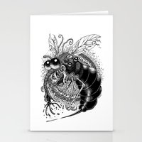 bug Stationery Cards featuring BUG! by PRESTOONS / Art by Dennis Preston