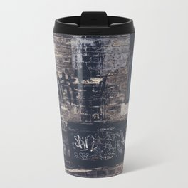 Pineapple in street Metal Travel Mug