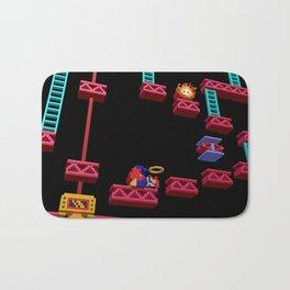 Inside Donkey Kong stage 3 Bath Mat