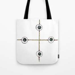 Sacrificed Eyes Tote Bag