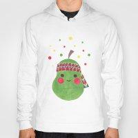 hippie Hoodies featuring Hippie Pear by haidishabrina