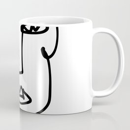 Faces Collection - Franca Coffee Mug