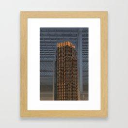 Art-chitecture I Framed Art Print