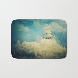 Air floating boat Bath Mat