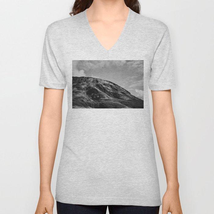 Hawaiian Mountain Unisex V-Neck