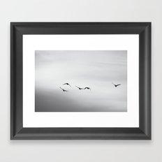 Wild Geese Framed Art Print