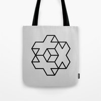 positive Tote Bags featuring Positive by Dizzy Moments