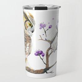 Know It Owl Travel Mug