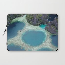 the blue hole in coron Philippines Laptop Sleeve