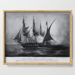 Gaspard Vence - 1777 / Corsaire Serving Tray
