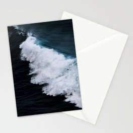 Powerful breaking wave in the Atlantic Ocean - Landscape Photography Stationery Cards