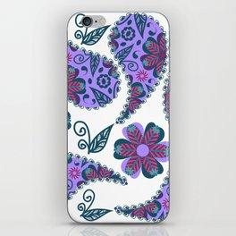 Paisley pattern #D1 iPhone Skin