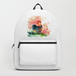 Rooster Colorful Backpack