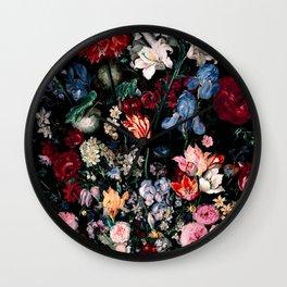 Midnight Garden XVII Wall Clock