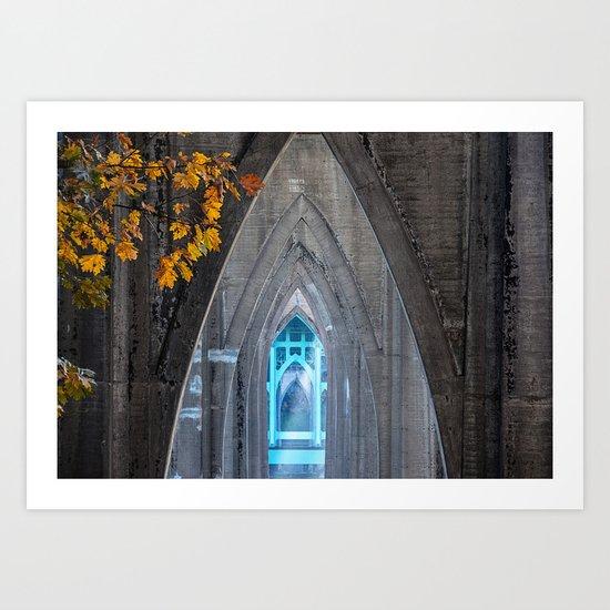 "Saint John's ""Cathedral"" Art Print"