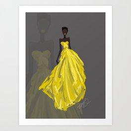 Blooming Elegance Art Print