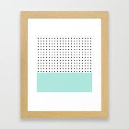 Stars and Mint Framed Art Print