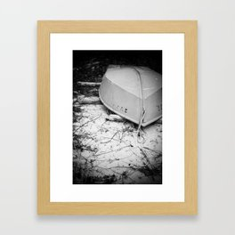 Peace, love, and freedom. Framed Art Print