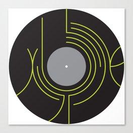 xylophone lp Canvas Print