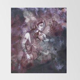 Radha Krishna- The Dreamscape Throw Blanket