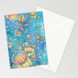 Jellyfish Lake Stationery Cards