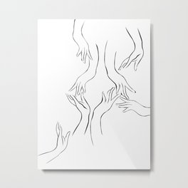 Les Mains Vol.1 Metal Print