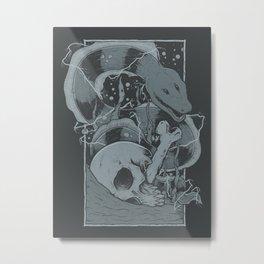Eelectric Metal Print