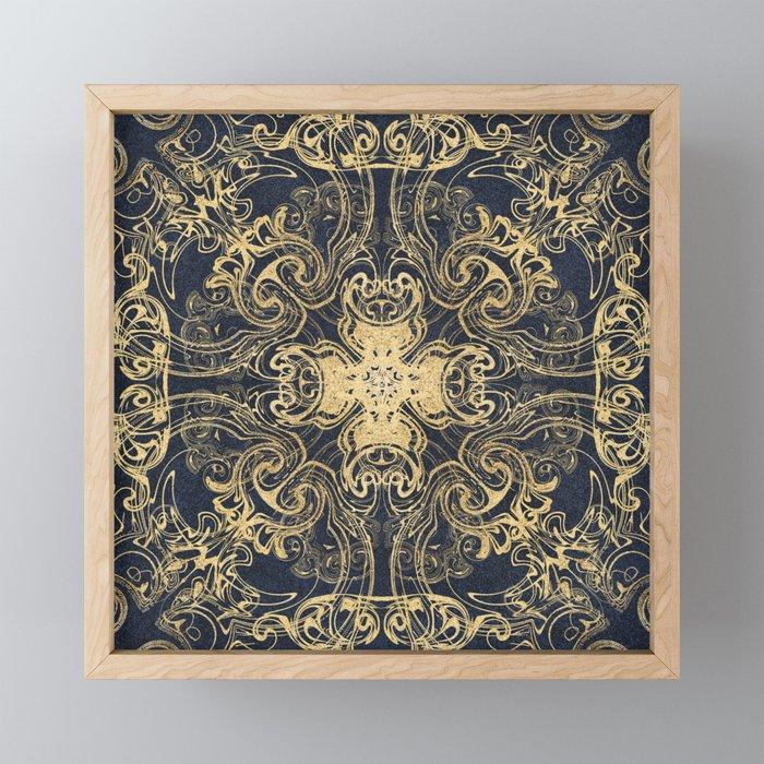 Royal Sapphire Framed Mini Art Print