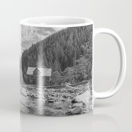 Cabin on the River Coffee Mug