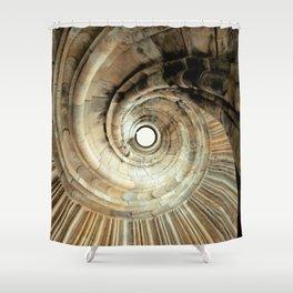 wendeltreppe Shower Curtain