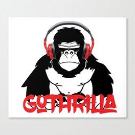 GoThrilla Canvas Print
