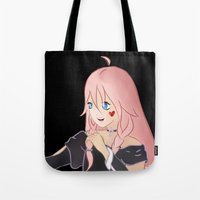 vocaloid Tote Bags featuring IA Vocaloid by Brittany's Drawings and Doodles