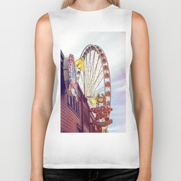 The Crab Pot and Seattle Great Wheel Biker Tank