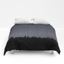 night sky in northern michigan  Comforters