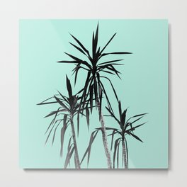 Palm Trees - Mint Cali Summer Vibes #1 #decor #art #society6 Metal Print