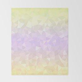 Pastel Ombre 3 Throw Blanket