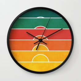 No regrets Wall Clock