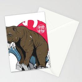 Aesthetic japanese anime Stationery Cards