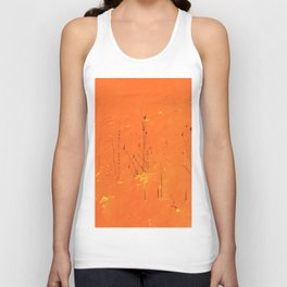 Winter Grasses Unisex Tank Top