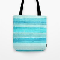 bar Tote Bags featuring Sand Bar by T30 Gallery