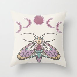 Gypsy Wings Throw Pillow